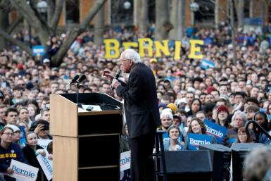 The appearance by US presidential candidate Bernie Sanders in Ann Arbor, Michigan on March 8, 2020 was the nation's last mass campaign rally before the coronavirus pandemic forced an end to large gatherings