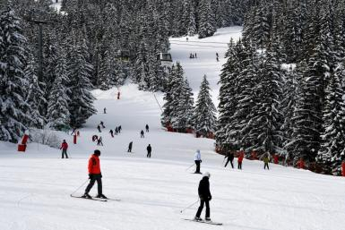 """At least five deputies in the Ukrainian parliament, plus a judge, have caught the """"Courchevel virus"""" -- the coronavirus -- while on a ski trip in France"""