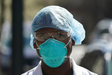 US hospitals and other health facilities are in critical need of personal protective equipment like masks as the country battles the coronavirus pandemic