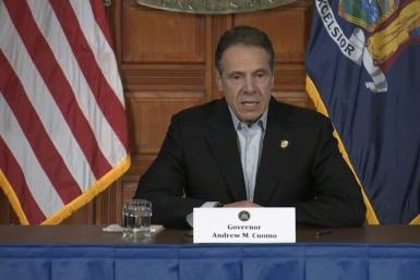 SOUNDBITENew York state's coronavirus toll rose at a devastating pace to 3,565 deaths Saturday, Governor Andrew Cuomo says, up from 2,935 the previous day, the largest 24-hour jump recorded there.