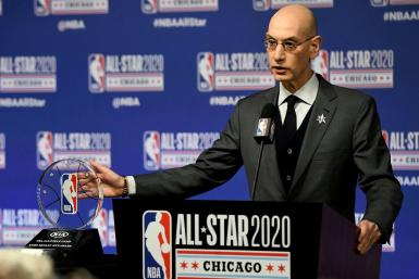 NBA Commissioner Adam Silver says he believes it will be at least May before the league can make any decision on resuming the 2019-20 season halted by the coronavirus pandemic