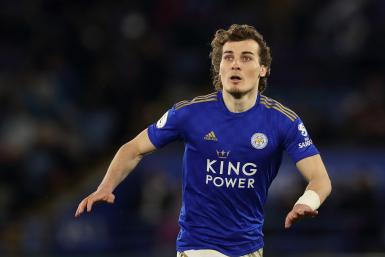Caglar Soyuncu of Leicester City