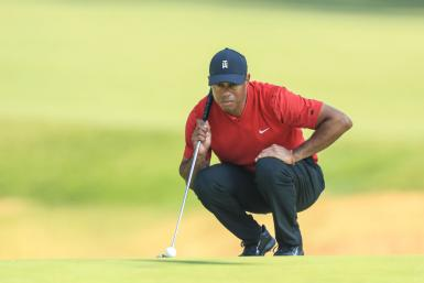 Tiger Woods at the Final Round of Genesis Invitational