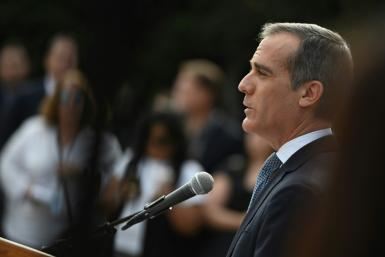 Los Angeles Mayor Eric Garcetti said that his California city might not host large gatherings, such as sporting events and concerts, before 2021