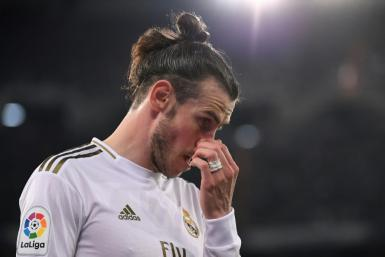 Real Madrid's Welsh forward Gareth Bale urges prudence before any return to football action