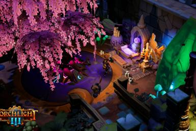 Fort frills, features, and facilities that will help grow characters as you progress through Torchlight III!
