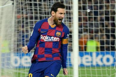 Lionel Messi is La Liga's leading scorer this season with 19 goals