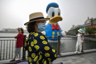 Disneyland has reopened in Shanghai, albeit at reduced capacity and with guests and employees wearing masks