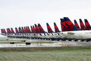 With much of its fleet idled in the wake of coronavirus shutdowns, Delta announced additional cost-cutting measures