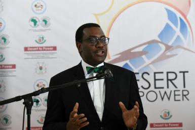 African Development (AFDB) president Akinwumi Adesina is seeking a second, five-year term at the head of the bank