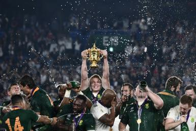 South Africa's Pieter-Steph du Toit was linked with a move to Montpellier