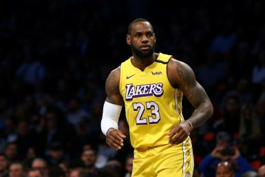 NBA superstar LeBron James of the Los Angeles Lakers was among the US sports figures who posted social media messages expressing outrage at the death of a Minnesota man after a policeman kneeled on his neck for several minutes
