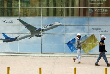 "State-owned Kuwait Airways said it will lay off 1,500 expatriate employees due to ""significant difficulties"" caused by the coronavirus pandemic"