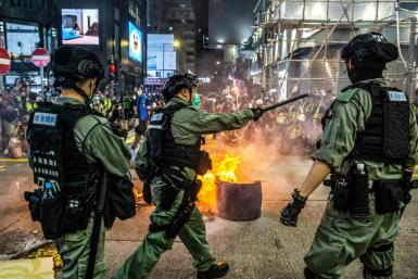 The latest unrest in Hong Kong comes days after China announced plans to impose a sweeping national security law on the city following last year's huge and often violent pro-democracy rallies