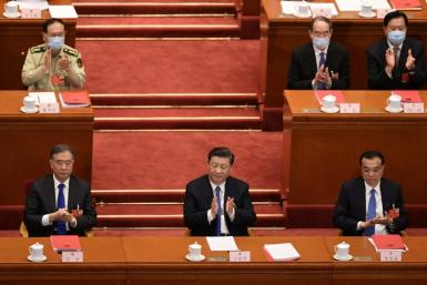 China's rubber-stamp parliament voted nearly unanimously to approve plans to impose the security law on Hong Kong