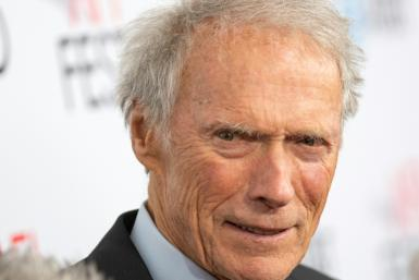 Director and actor Clint Eastwood, born in 1930, appears to still enjoy plying his trade