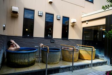 Public bathhouses in Japan are gradually reopening from virus lockdowns