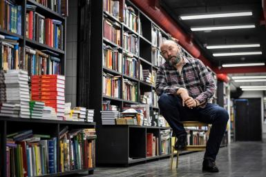 Boris Kupriyanov co-founded Falanster, one of Russia's most famous independent bookshops