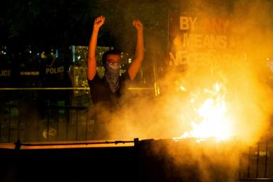 Protests have broken out in multiple US cities over racial inequality and police brutality, which Chinese state media have compared with the unrest in Hong Kong