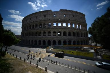 The lifting of strict measures around the world has seen the reopening of bars, cafes and tourist attractions such as the Colosseum, fuelling hopes for the economic recovery