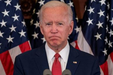 Democratic presidential candidate Joe Biden speaks about the unrest across the country from Philadelphia City Hall