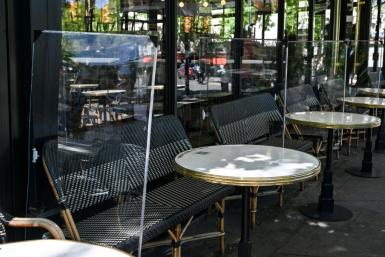 French cafes and restaurants are working hard to get everything ready for their reopening Tuesday