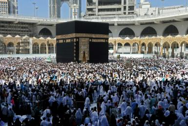 Last year the hajj pilgrimage drew about 2.5 million Muslims to Saudi Arabia