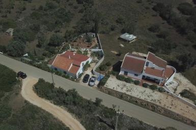 Aerial and ground images show the Portugal house where the suspect in the Madeleine McCann case lived at the time of her disappearance