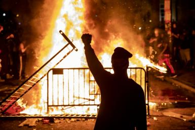 Fiery protests over racial injustice and a health pandemic that has killed 100,000 Americans and tanked the economy are converging to form what is perhaps the most unstable US presidential election year in modern history