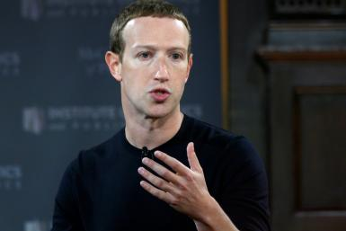 Mark Zuckerberg, pictured in October 2019, has vowed to review Facebook's policies allowing discussion and threats of state use of force