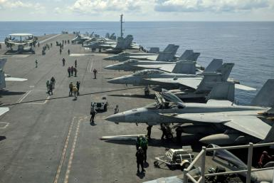 The United States runs regular operations in the South China Sea
