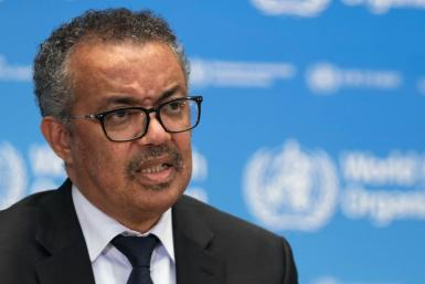 World Health Organization boss Tedros Adhanom Ghebreyesus warned that the fight against the virus is far from over
