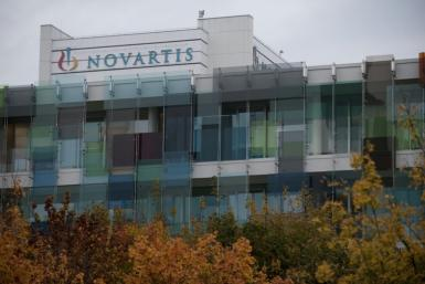 Novartis' headquarters in Basel, Switzerland