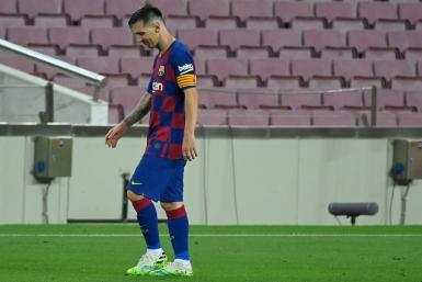 On the way out? Lionel Messi