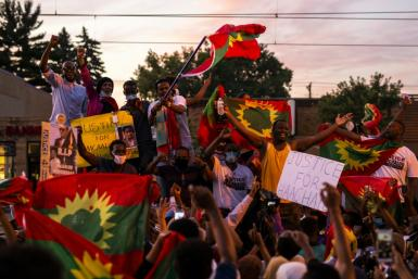 Protests even broke out in the Oromo community the US state of Minnesota over the musicians death