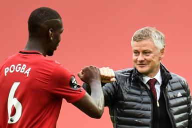 Manchester United manager Ole Gunnar Solskjaer (right) said his side's fine form has slowed him from ageing