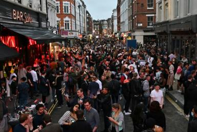 While authorities in some countries are reimposing virus containment measures, British pubs reopened at the weekend for the first time since late March as the country eases lockdowns