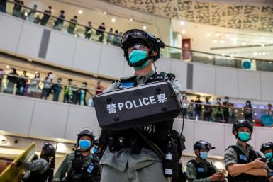 Hong Kong police will be able to conduct a search without a warrant if they deem a threat to national security is 'urgent'