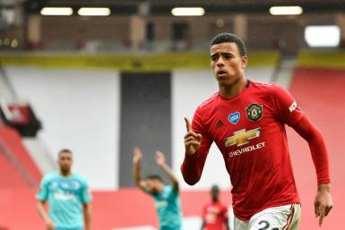 Teenage kicks: 18-year-old Mason Greenwood has scored 15 times for Manchester United this season