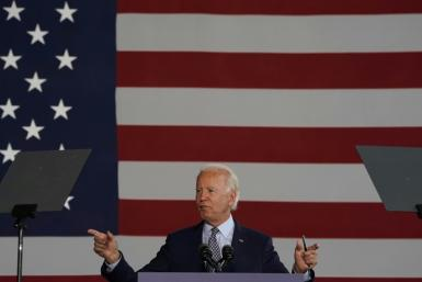 Democratic presidential nominee Joe Biden set out an economic plan that includes massive spending on jobs and a hike in corporate tax rates