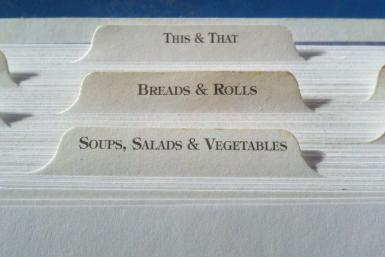 labels for files