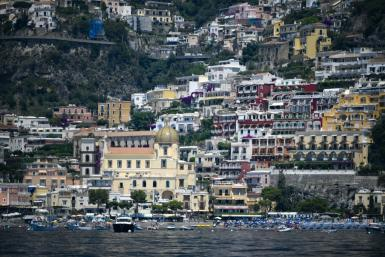 The village of Positano on the Amalfi coast has suffered a severe dip in tourism because of coronavirus