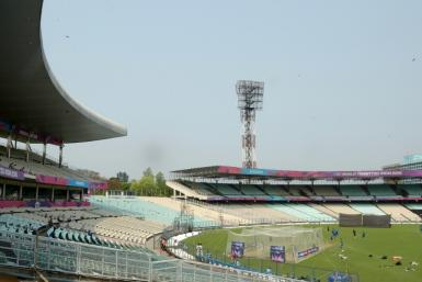 Kolkata's famed Eden Gardens stadium will be used to quarantine police with the coronavirus