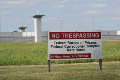 A former white supremacist was executed at this prison in Indiana in the first US federal execution in 17 years