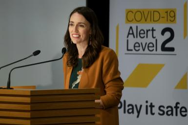 Jacinda Ardern has won widespread praise for New Zealand's response to the COVID-19 pandemic