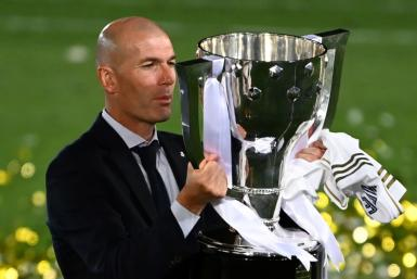 Zidane is in his second spell as Real coach