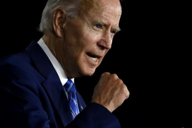Former Vice President Joe Biden, the Democratic candidate for president, speaking at an event in Wilmington, Delaware, on July 15, 2020.