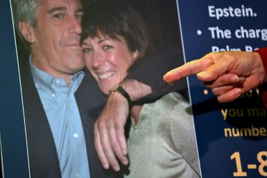 Ghislaine Maxwell -- shown here with the late disgraced financier Jeffrey Epstein -- is being held at Brooklyn's high-security Metropolitan Detention Center