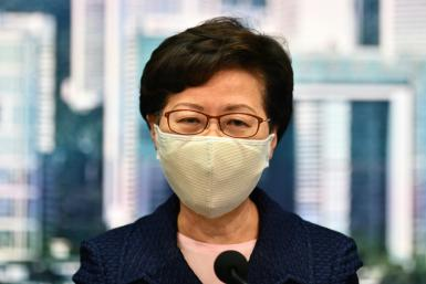 Hong Kong Chief Executive Carrie Lam described the announcement as the 'most difficult decision' she has made since the pandemic began