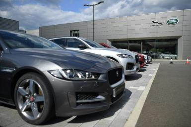 Tata's luxury car unit Jaguar Land Rover faced sales challenges in its key markets China and Europe, worsened by the virus spread and supply chain disruptions